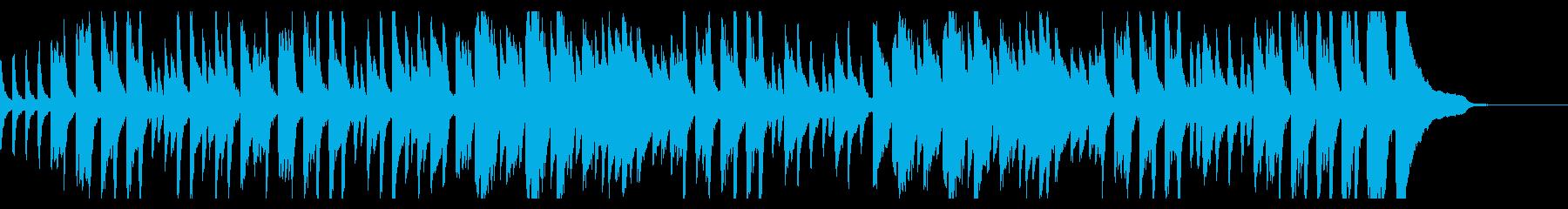 ピアノ練習曲/ブルグミュラーアラベスクの再生済みの波形