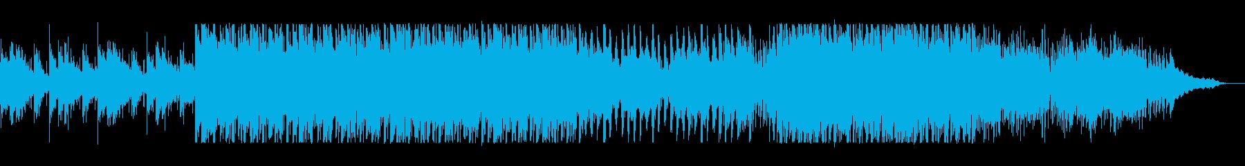 爽やかで透明感のあるトロピカルサウンドの再生済みの波形