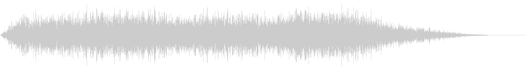 ハードノイズ遷移の未再生の波形