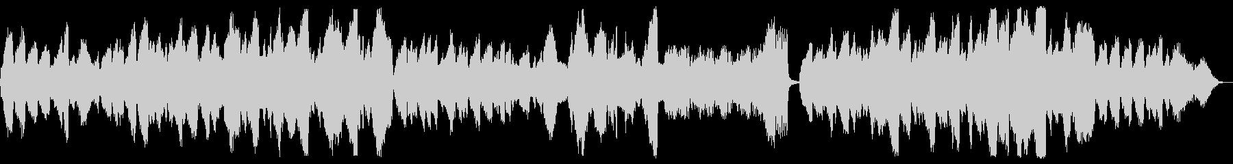 穏やかな弦楽四重奏曲の未再生の波形