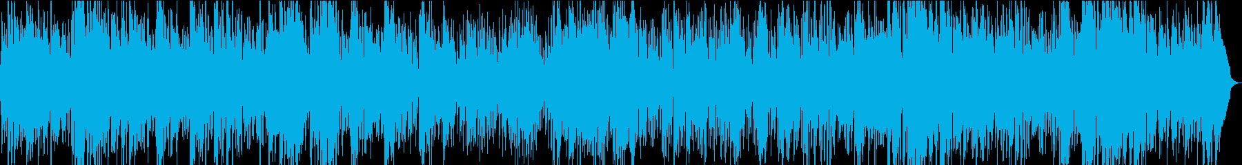 生演奏ボサノバ・サックス・店舗BGMなどの再生済みの波形