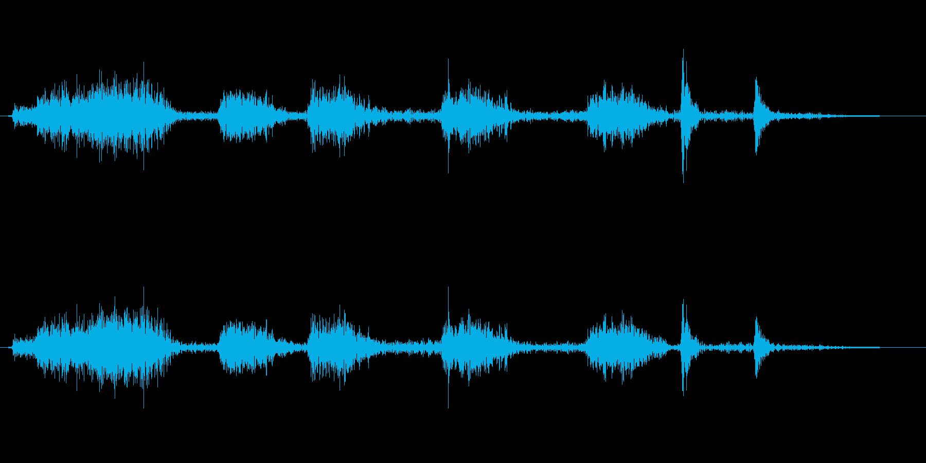 火炎放射器 ショートマルチ02の再生済みの波形
