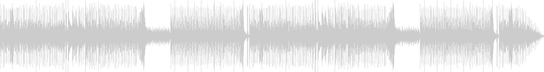 For the appearance scene of comical villains, etc.'s unreproduced waveform