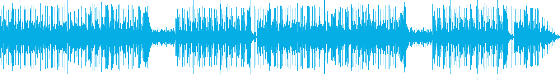 For the appearance scene of comical villains, etc.'s reproduced waveform