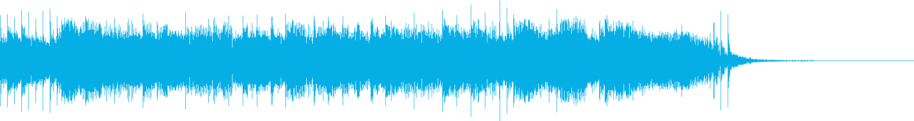 ロックなジングル2 漫才の出囃子 退場にの再生済みの波形
