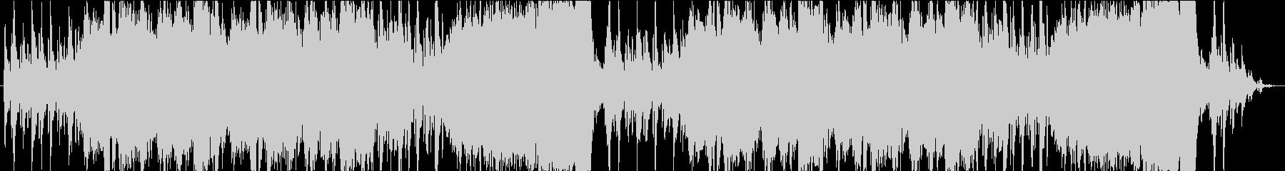 RPG向け炎のダンジョンステージBGMの未再生の波形