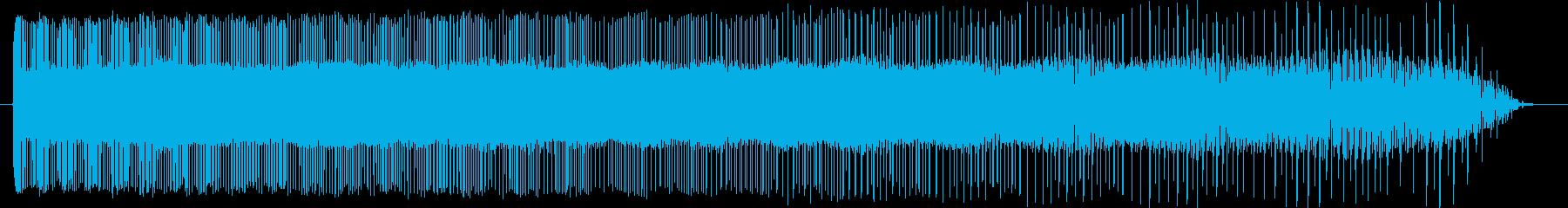 レトロなぴゅーん パワーダウン コミカルの再生済みの波形