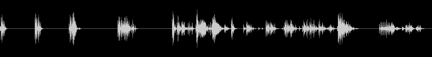 クリスタル:さまざまなリングベルの未再生の波形
