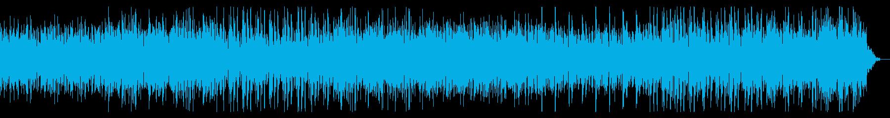 ノイジーでホラーテイストなBGMの再生済みの波形