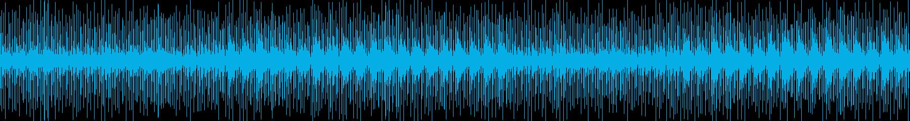 ゆったりめのテクノ/CM映像/戦闘緊張感の再生済みの波形