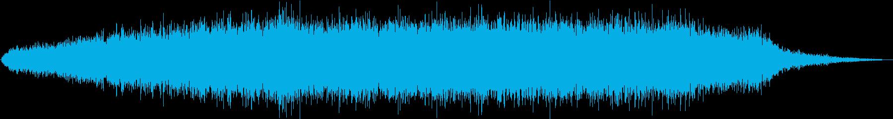 ドローン ひらひら闇01の再生済みの波形