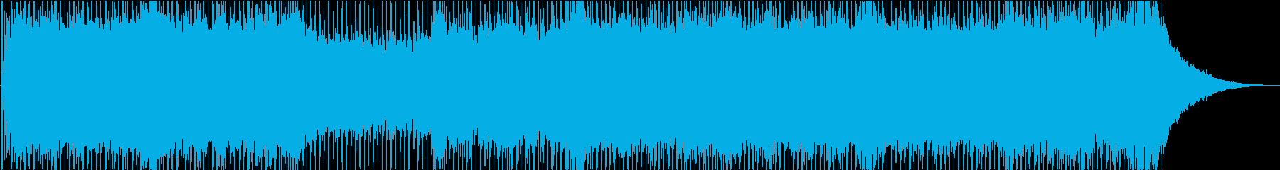 爽快で少しワイルドなポップ・ロックの再生済みの波形