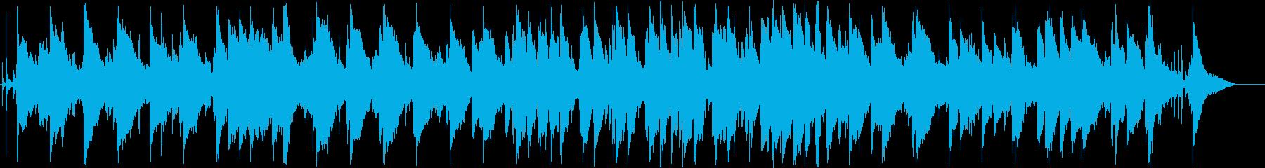 脱力感のあるシンセサイザーサウンドの再生済みの波形