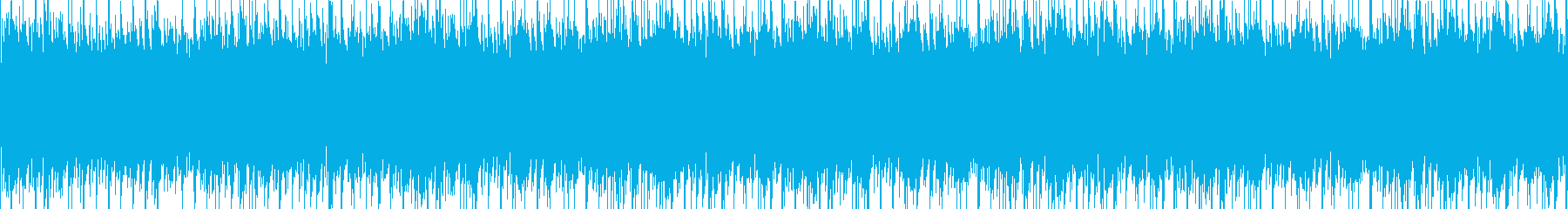 エレキギターによる迷宮感のあるループの再生済みの波形