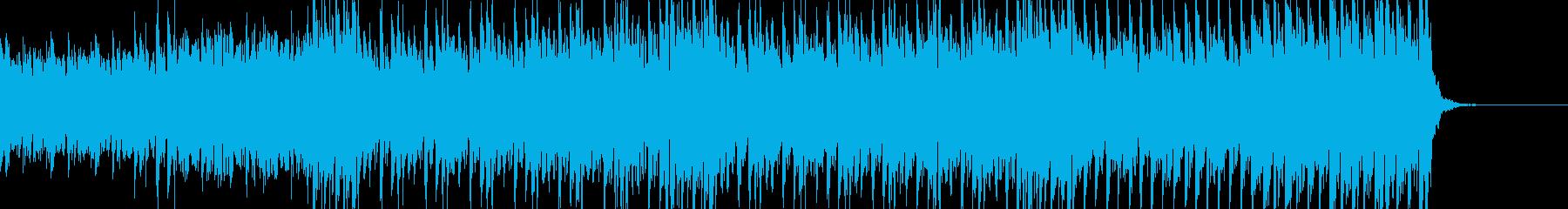緊迫感のある不気味なハードテクノ60秒の再生済みの波形