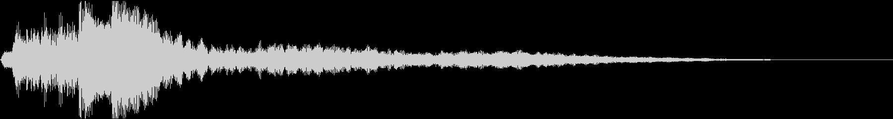ローファイ・ドキュメンタル風ピアノcの未再生の波形