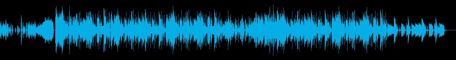 FUNK系ダンサンブルなポップスの再生済みの波形