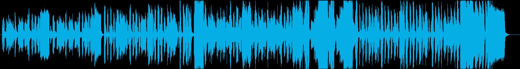 ほのぼのちょっと怪しげなリコーダーの再生済みの波形