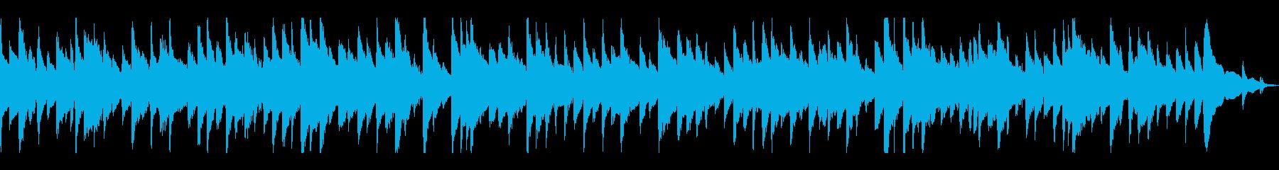 穏やか・暖かい アコギBGM ループ仕様の再生済みの波形