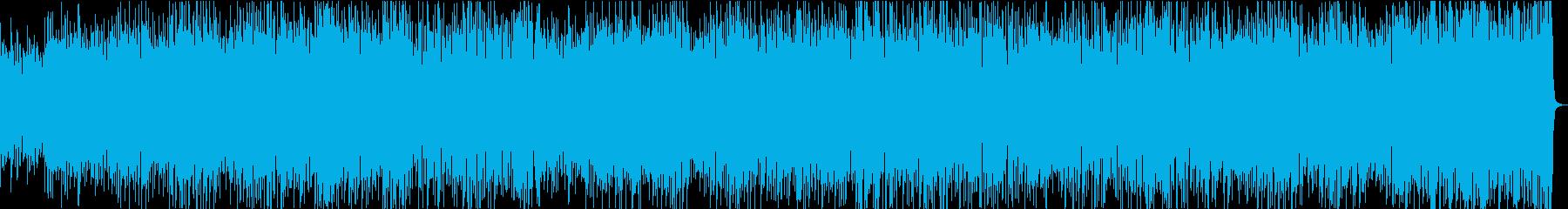 疾走感のあるクールなピアノジャズの再生済みの波形
