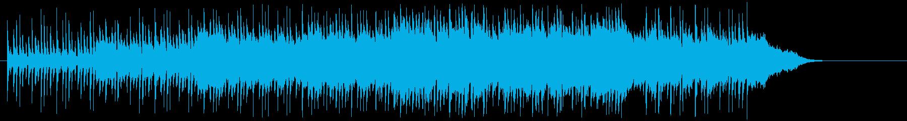 楽しい昼下がりを彩るタイトルB.G.M.の再生済みの波形