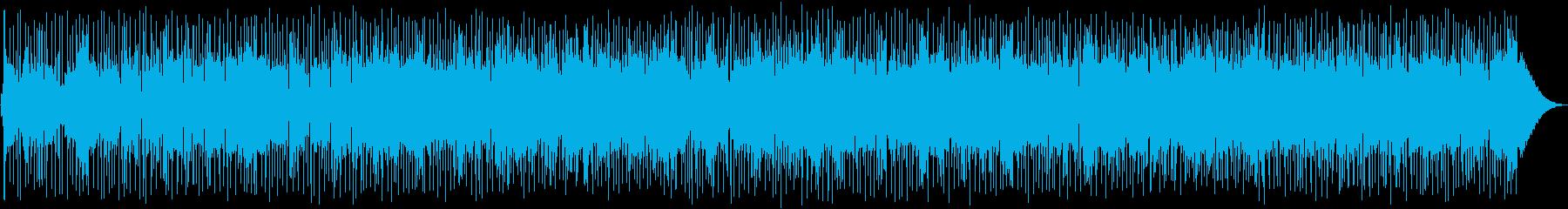 冷静になる。静かで高騰する歌声シン...の再生済みの波形