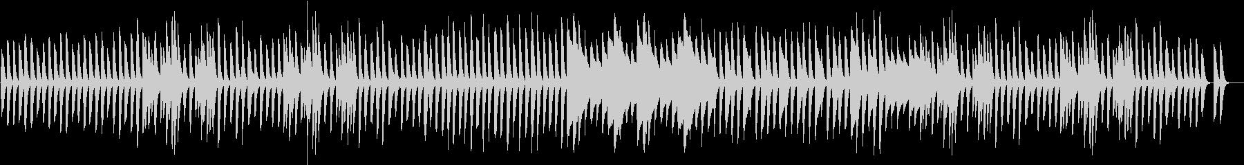 日常系アニメ風 ほのぼのピアノBGMの未再生の波形