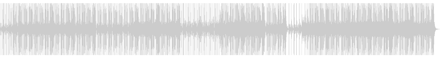 【オケのみ】スローファンクロックの未再生の波形