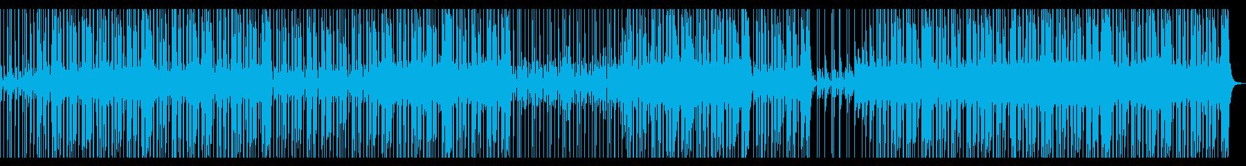 【オケのみ】スローファンクロックの再生済みの波形