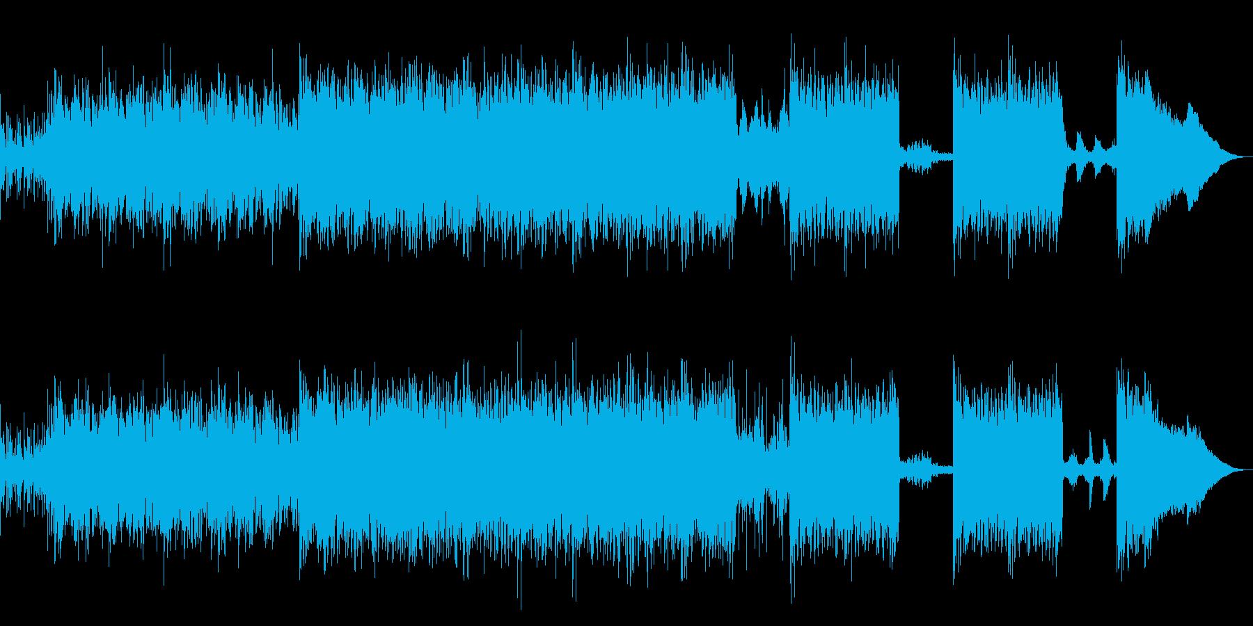 狂ったスチームパンクなデジロックの再生済みの波形