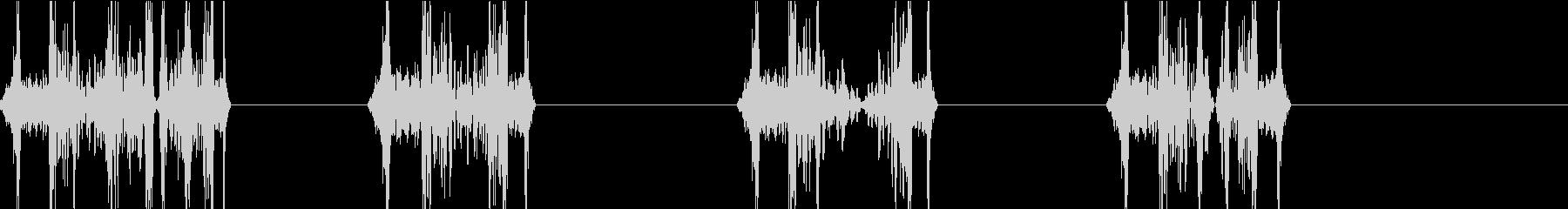 DJプレイ スクラッチ・ノイズ 111の未再生の波形