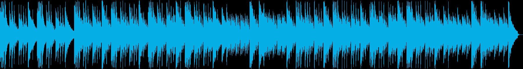 ゆっくりと安らぎのギター・シンセサウンドの再生済みの波形