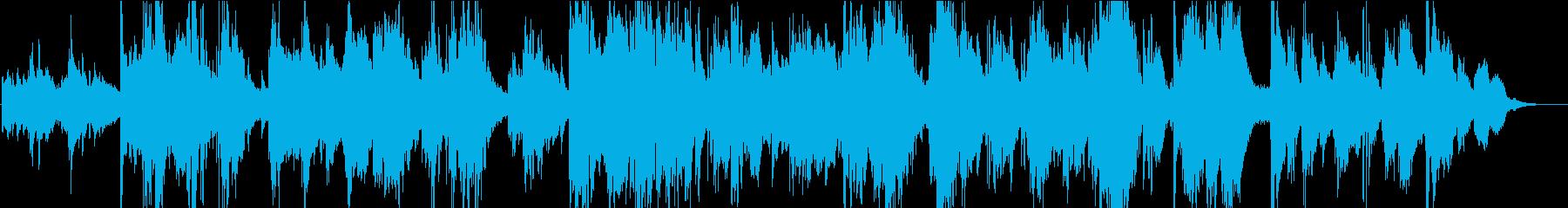 ピアノの遠隔ベース、ルバトバラード...の再生済みの波形