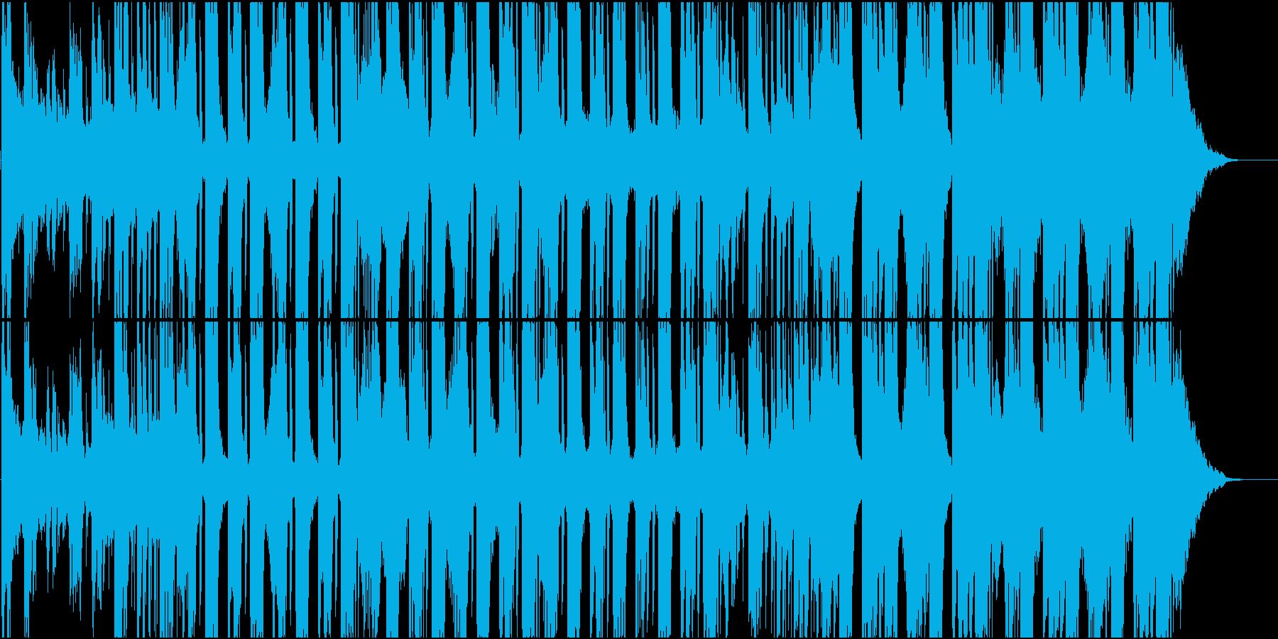 アップリフィティングなフューチャーベースの再生済みの波形