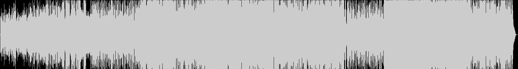 LINDYの未再生の波形
