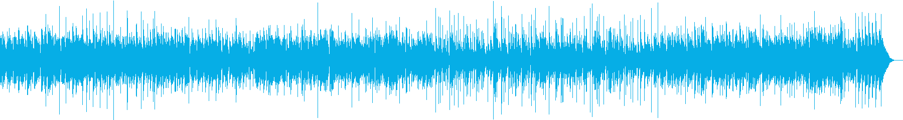 サックスのほのぼのとしたジャズワルツの再生済みの波形