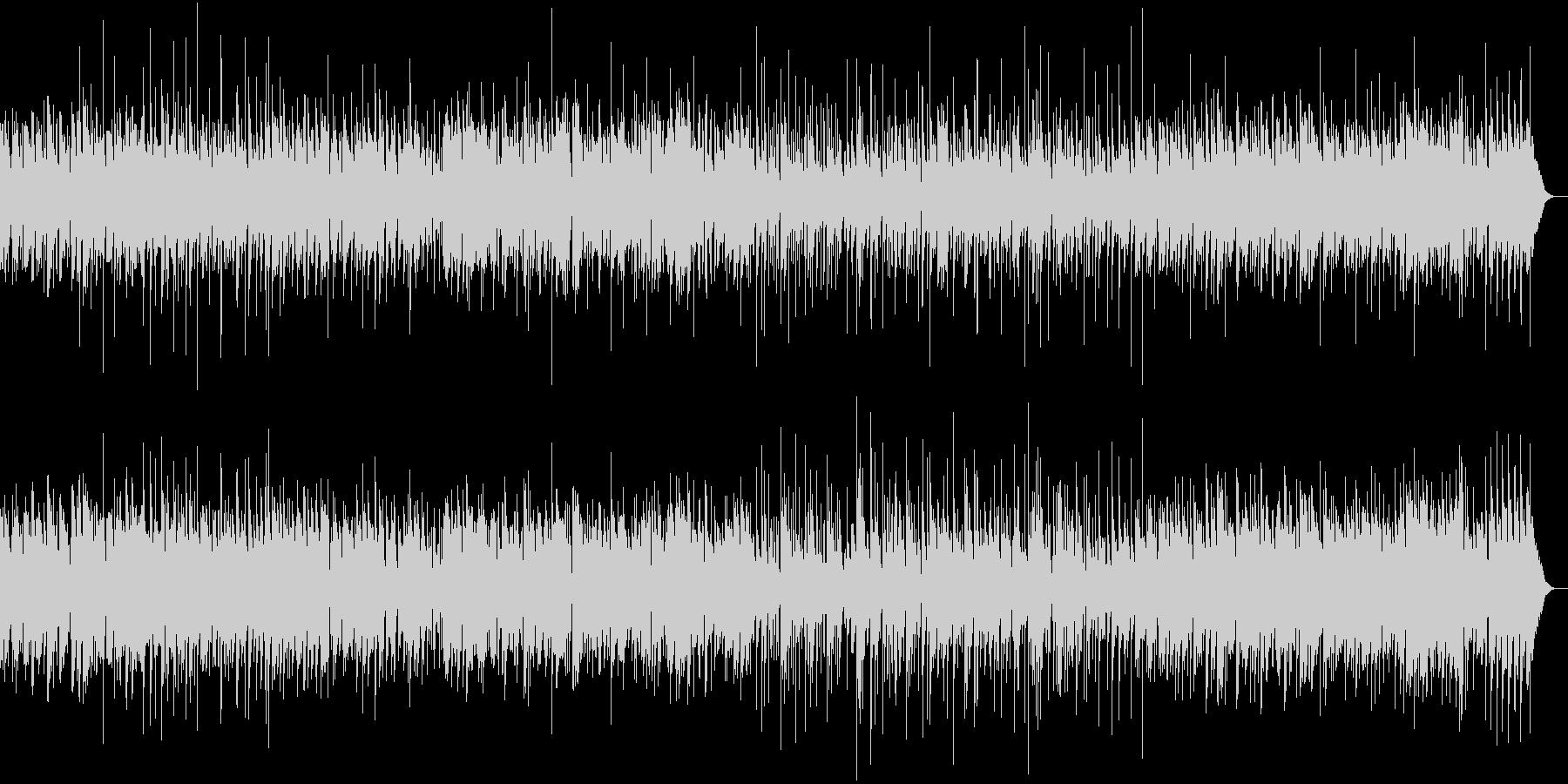 サックスのほのぼのとしたジャズワルツの未再生の波形