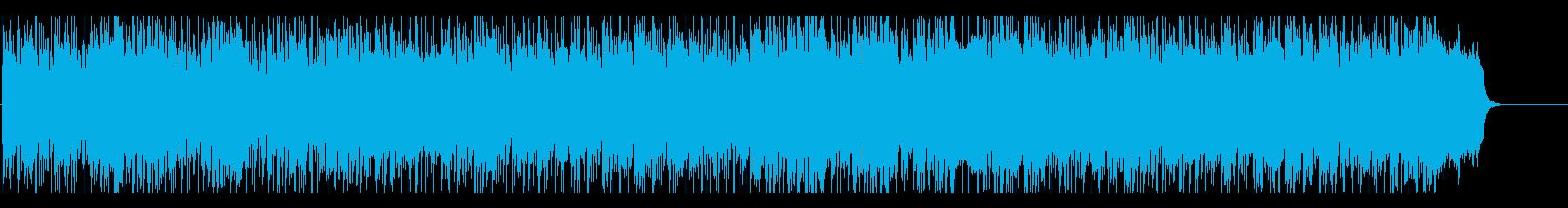 リゾート気分なCM・情報番組向けボサノバの再生済みの波形