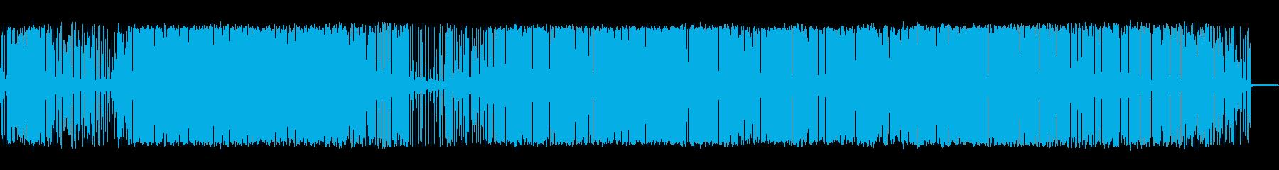 電気的静的の再生済みの波形