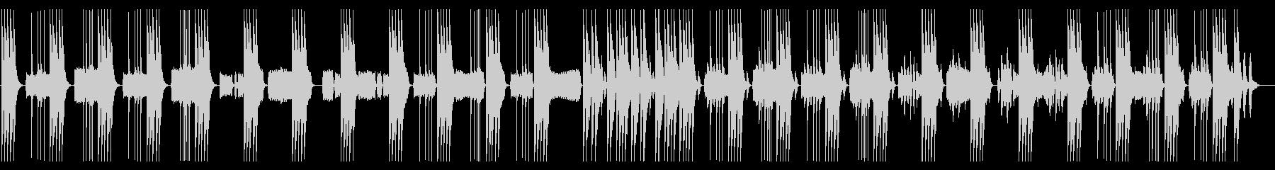 リズム抜】とぼけた、コミカル日常系BGMの未再生の波形