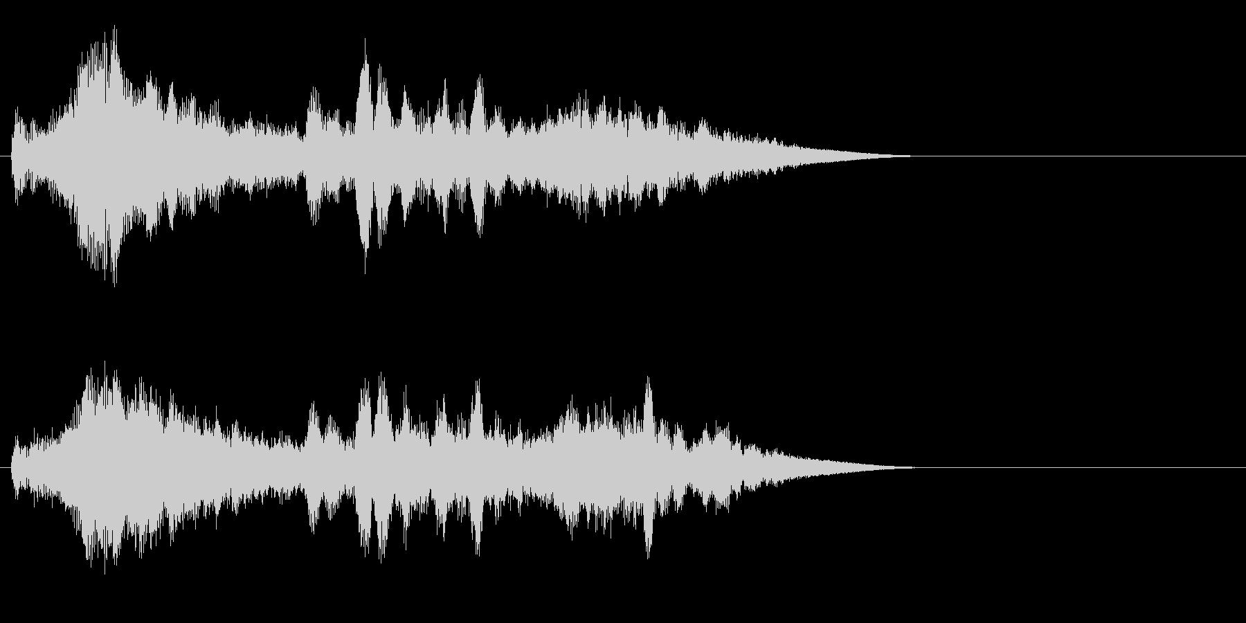 SF 移動音 13の未再生の波形