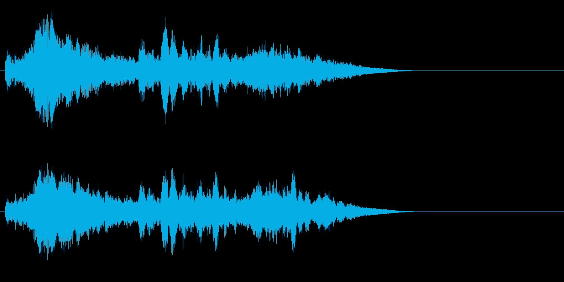 SF 移動音 13の再生済みの波形