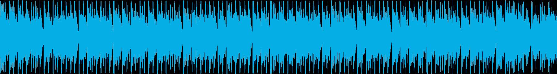 クールでエレガントなハウスミュージックの再生済みの波形