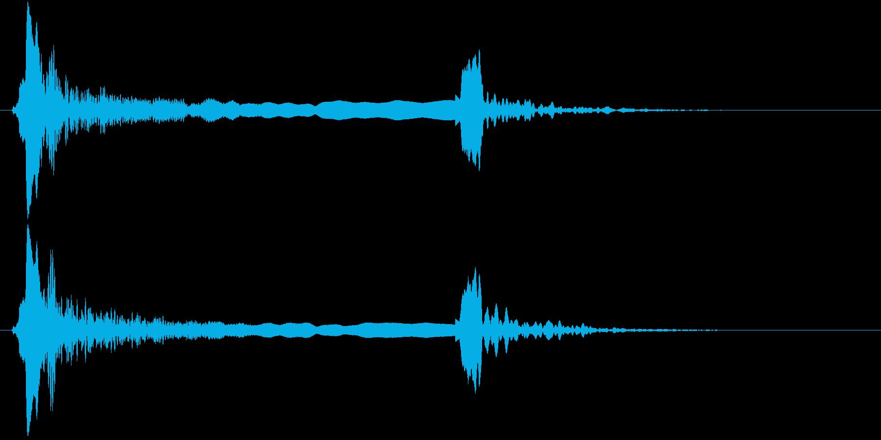 「ピィーピッ」能管ひしぎ長さ普通リバーブの再生済みの波形
