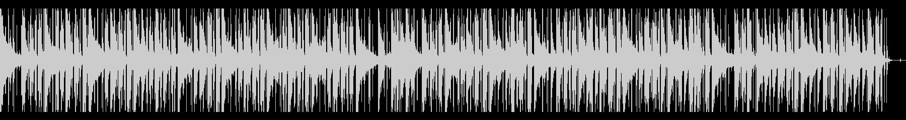 都会的・モダン・冷静 lo-fiピアノ の未再生の波形