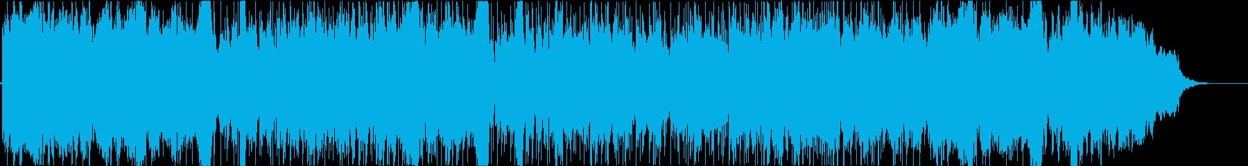 技術、科学、プレゼンテーションの再生済みの波形