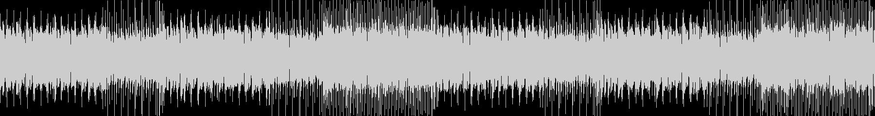 ケルト調の通常戦闘曲の未再生の波形