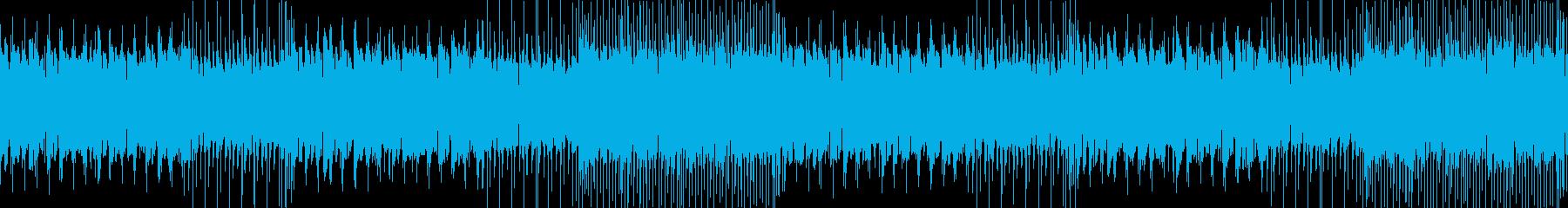 ケルト調の通常戦闘曲の再生済みの波形