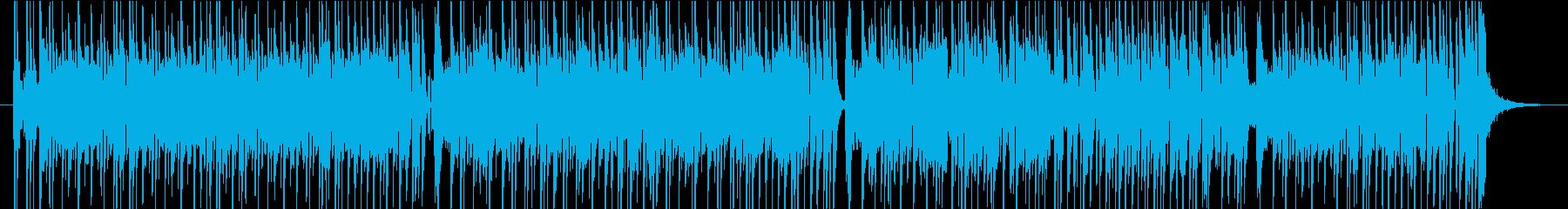 あやしくコミカルなメロトロンのポップスの再生済みの波形