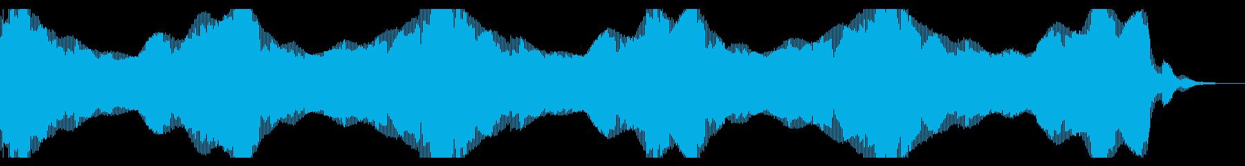 ヘビースペースベースシンセドローンの再生済みの波形
